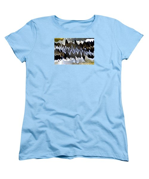 Women's T-Shirt (Standard Cut) featuring the photograph Wwaatteerr by Tom Cameron