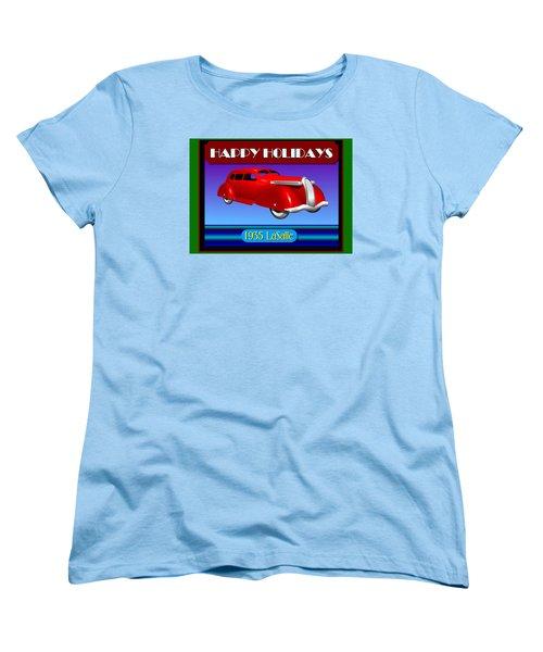 Wyandotte Lasalle Happy Holidays Women's T-Shirt (Standard Cut) by Stuart Swartz