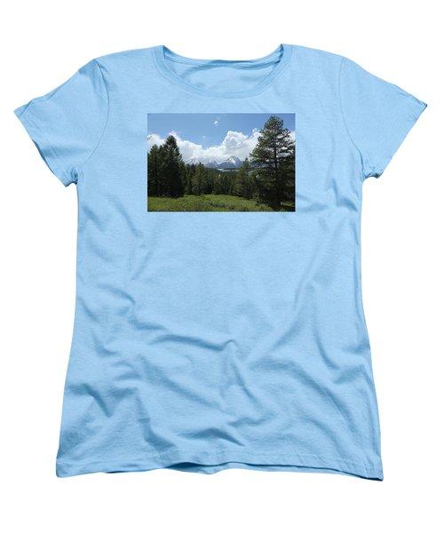 Wyoming 6500 Women's T-Shirt (Standard Cut) by Michael Fryd