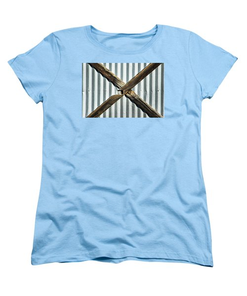 Women's T-Shirt (Standard Cut) featuring the photograph X Marks The Spot by Karol Livote