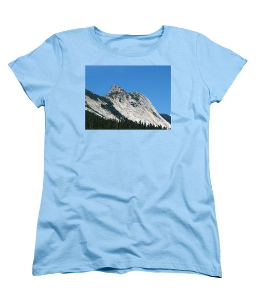 Yak Peak Women's T-Shirt (Standard Cut) by Will Borden