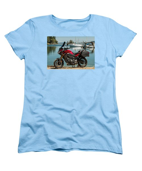 Yamaha Fj-09 .3 Women's T-Shirt (Standard Cut) by E Faithe Lester