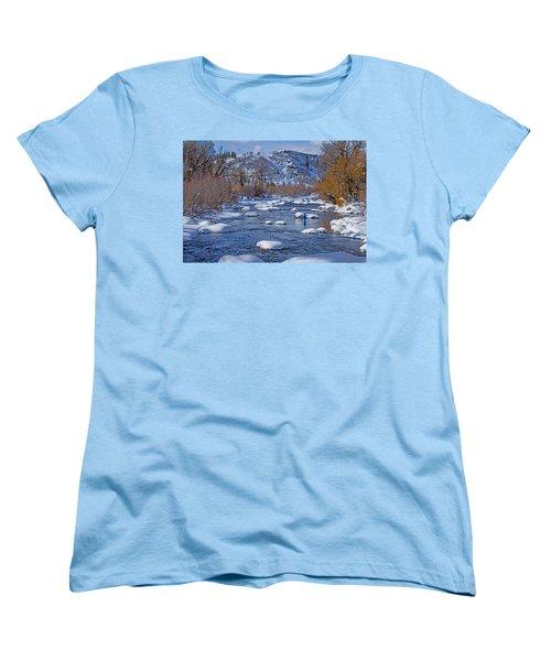 Yampa River Women's T-Shirt (Standard Cut) by Sean Allen