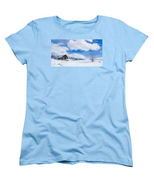 Yeehawww Women's T-Shirt (Standard Cut) by Sean Allen