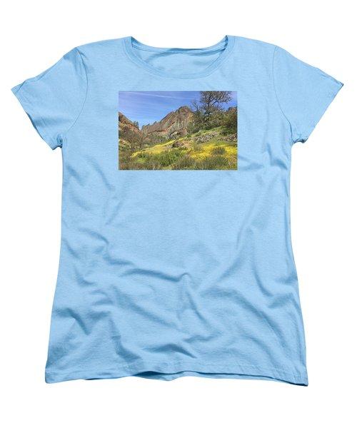 Women's T-Shirt (Standard Cut) featuring the photograph Yellow Carpet by Art Block Collections