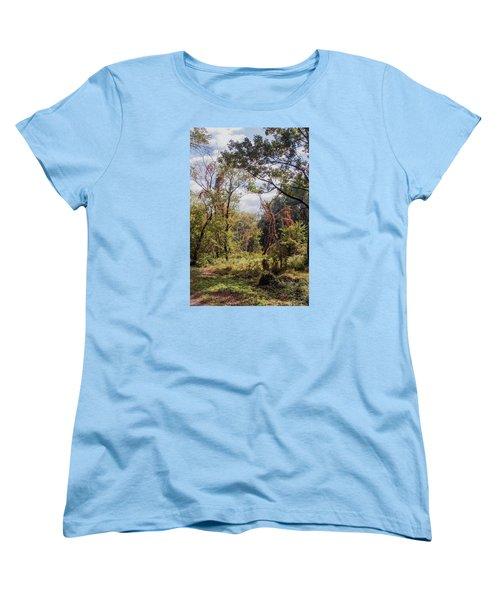 Women's T-Shirt (Standard Cut) featuring the photograph Yesterdays by John Rivera