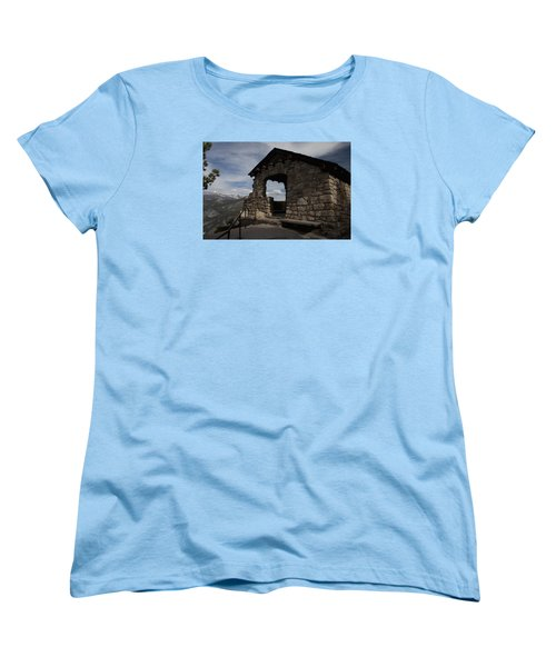 Yosemite Refuge Women's T-Shirt (Standard Cut) by Ivete Basso Photography