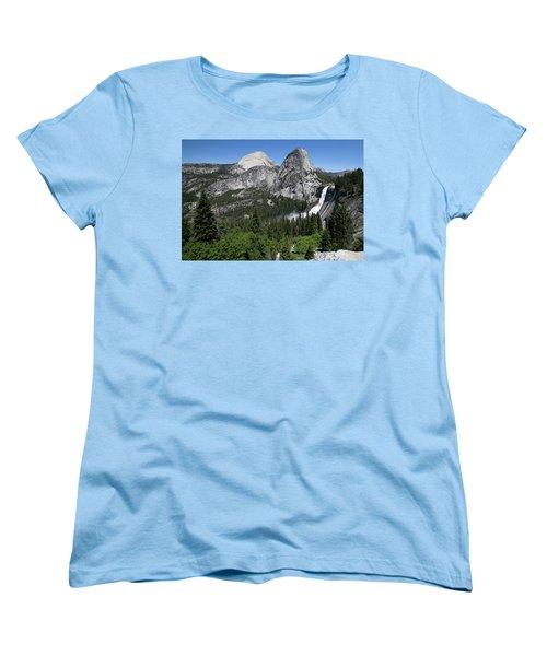 Yosemite View 30 Women's T-Shirt (Standard Cut) by Ryan Weddle