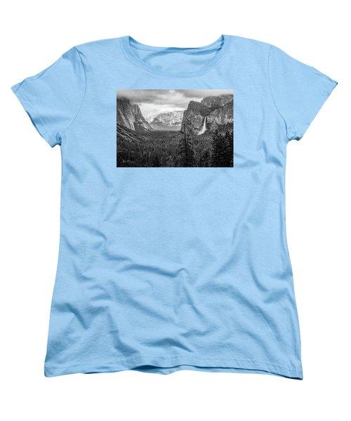 Yosemite View 38 Women's T-Shirt (Standard Cut) by Ryan Weddle