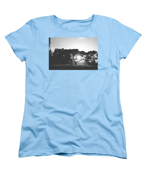 Women's T-Shirt (Standard Cut) featuring the photograph You Inspire by Laurie Search