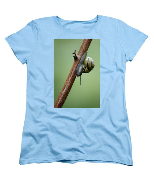 Women's T-Shirt (Standard Cut) featuring the photograph You Move Too Fast by Cathie Douglas
