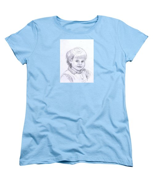 Young Girl Women's T-Shirt (Standard Cut)