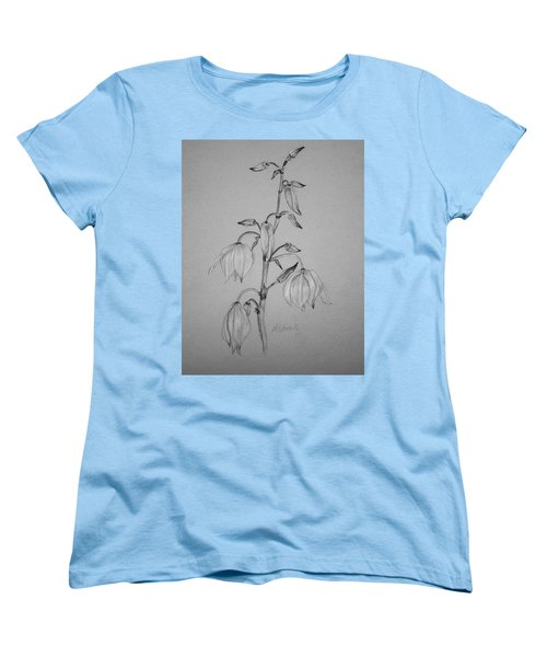 Yucca Women's T-Shirt (Standard Cut) by Marna Edwards Flavell