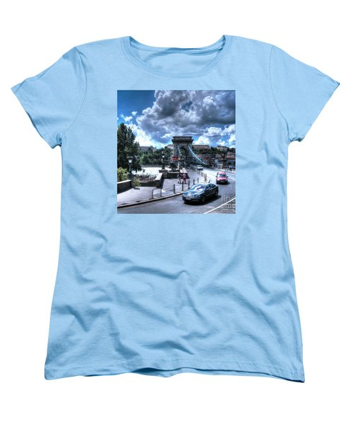 Yury Bashkin Budapesht Summer Women's T-Shirt (Standard Cut) by Yury Bashkin