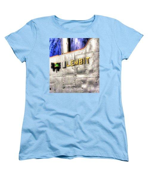 Women's T-Shirt (Standard Cut) featuring the pyrography Yury Bashkin Element  Tallin Museum by Yury Bashkin
