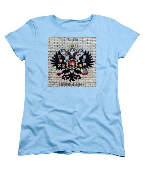Women's T-Shirt (Standard Cut) featuring the pyrography Yury Bashkin Symbol by Yury Bashkin