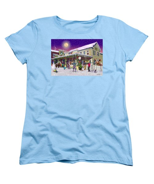 Zebs General Store In North Conway New Hampshire Women's T-Shirt (Standard Cut) by Nancy Griswold