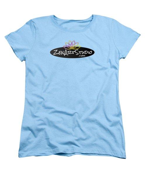 Zen Art Studio Logo Women's T-Shirt (Standard Cut) by Julie Niemela