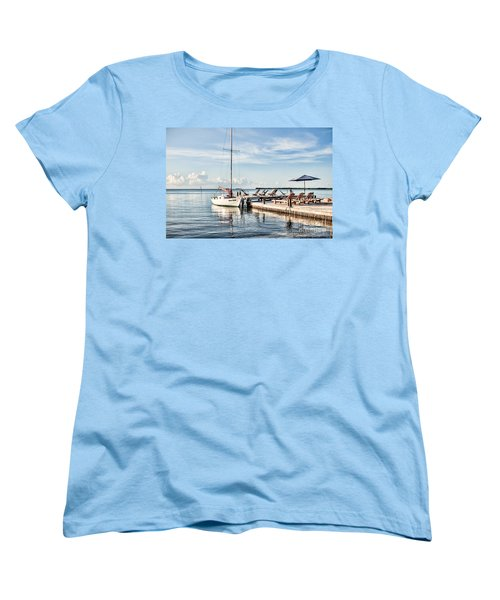 Women's T-Shirt (Standard Cut) featuring the photograph Zen Say by Lawrence Burry