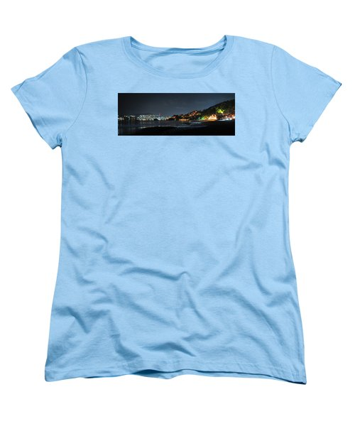 Women's T-Shirt (Standard Cut) featuring the photograph Zihuatanejo, Mexico by Jim Walls PhotoArtist
