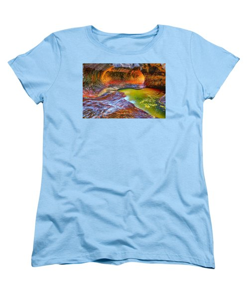 Zion Subway Women's T-Shirt (Standard Cut) by Greg Norrell