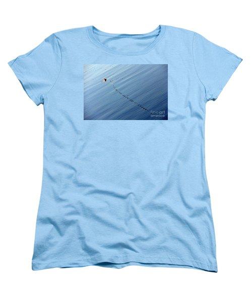 Zip Women's T-Shirt (Standard Cut) by Priscilla Richardson