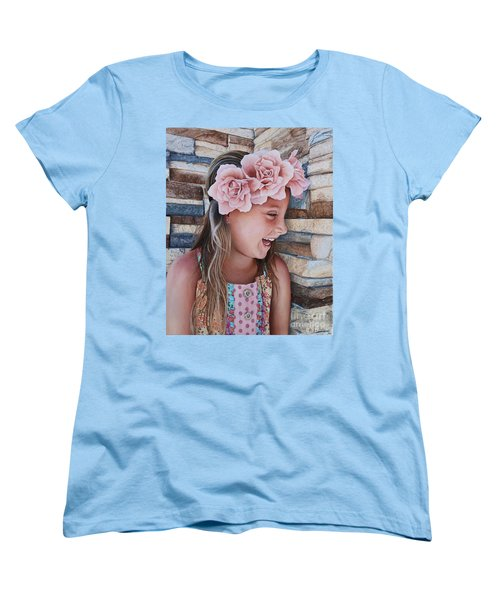 Zuri Painting Women's T-Shirt (Standard Cut) by Mike Ivey