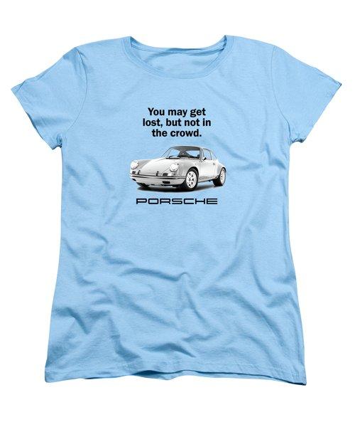 Lost In A Porsche Women's T-Shirt (Standard Fit)
