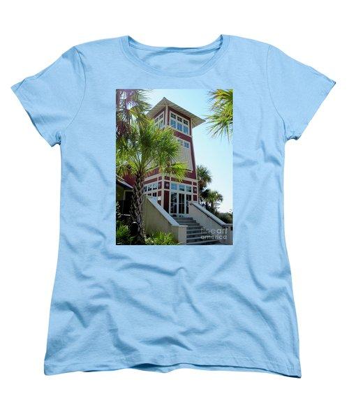 Tropical View Women's T-Shirt (Standard Fit)