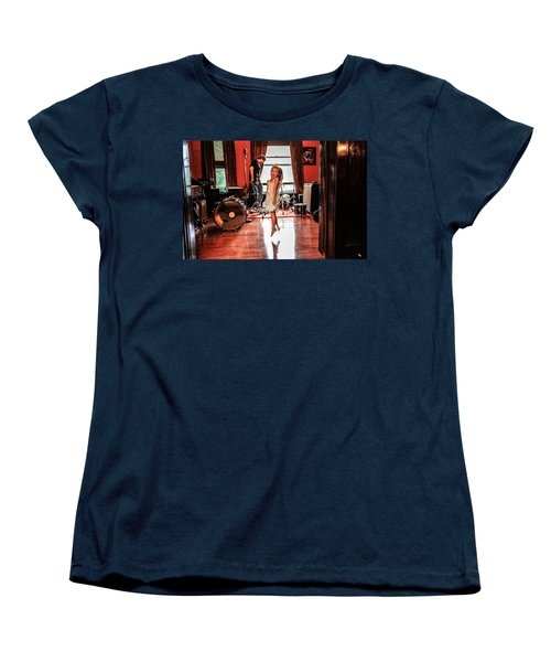 Women's T-Shirt (Standard Cut) featuring the photograph  Brooklyn Dancing by Ray Congrove
