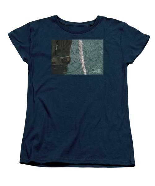 Dock Rope And Wood Women's T-Shirt (Standard Cut)