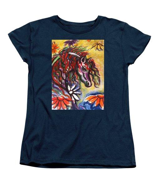 Dream Horse 2 Women's T-Shirt (Standard Cut) by Hae Kim