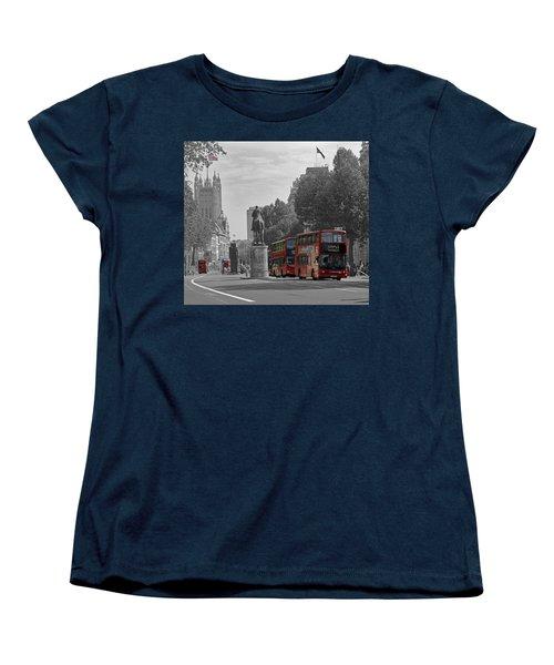 Routemaster London Buses Women's T-Shirt (Standard Cut) by Tony Murtagh