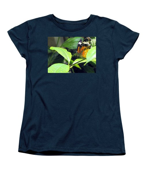 Women's T-Shirt (Standard Cut) featuring the photograph  Tiger Wings by Jennifer Wheatley Wolf