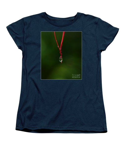 Waterdrop Women's T-Shirt (Standard Cut) by Michelle Meenawong