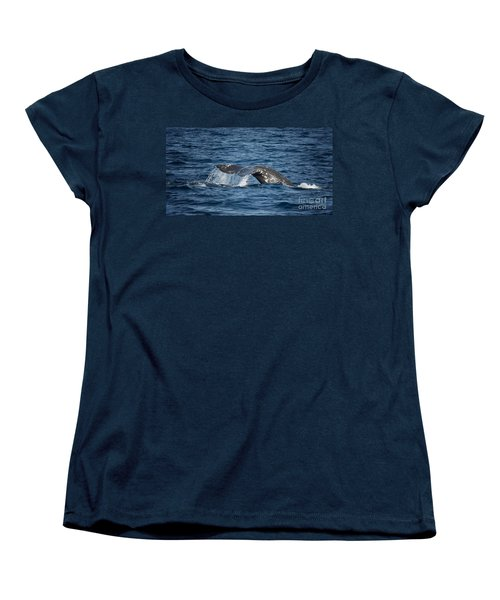 Whale Fluke In Dana Point Women's T-Shirt (Standard Cut)