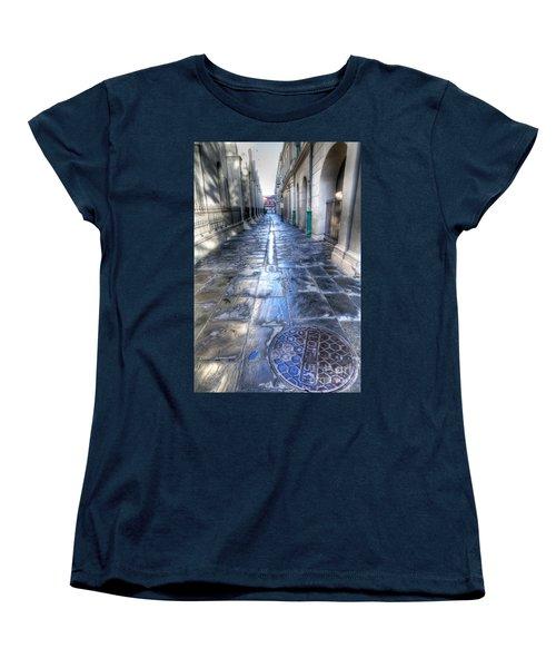 0270 French Quarter 2 - New Orleans Women's T-Shirt (Standard Cut) by Steve Sturgill