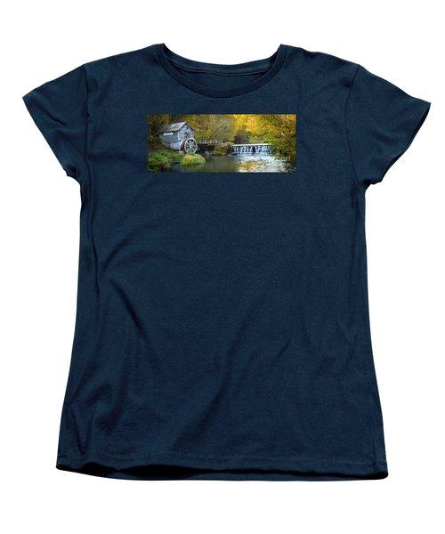 0291 Hyde's Mill Wisconsin Women's T-Shirt (Standard Cut) by Steve Sturgill