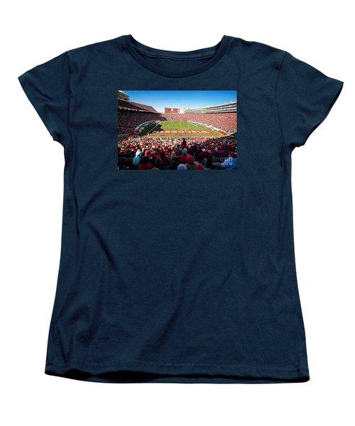 0814 Camp Randall Stadium Women's T-Shirt (Standard Cut) by Steve Sturgill