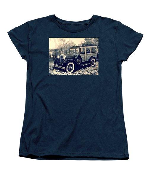1931 Type 150-b Ford Women's T-Shirt (Standard Cut) by Carlos Avila