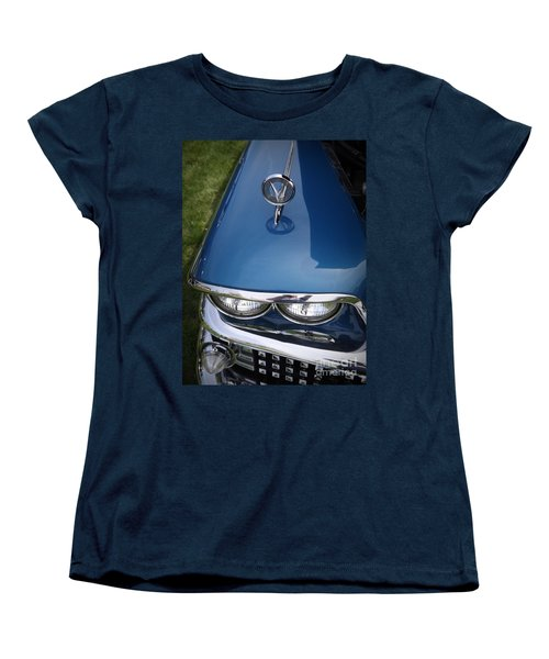 1958 Buick Super 56r Women's T-Shirt (Standard Cut) by Sara  Raber