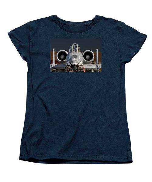 A-10 Warthog Women's T-Shirt (Standard Cut) by John Black