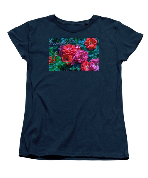 A Rose Is A Rose Women's T-Shirt (Standard Cut) by Richard J Cassato