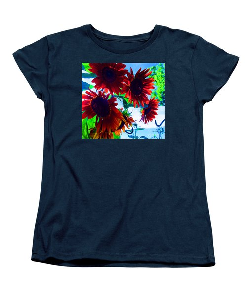 Women's T-Shirt (Standard Cut) featuring the photograph All Together Now by Tina M Wenger