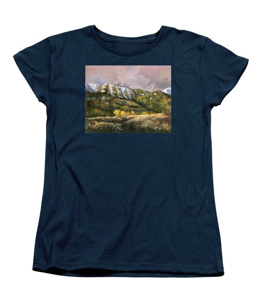 Women's T-Shirt (Standard Cut) featuring the painting Bear Claw by Lynne Wright