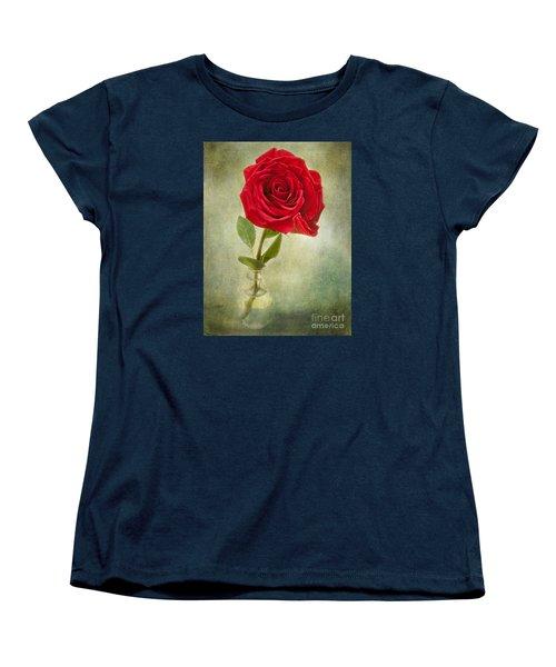 Beautiful Rose Women's T-Shirt (Standard Cut) by Lena Auxier