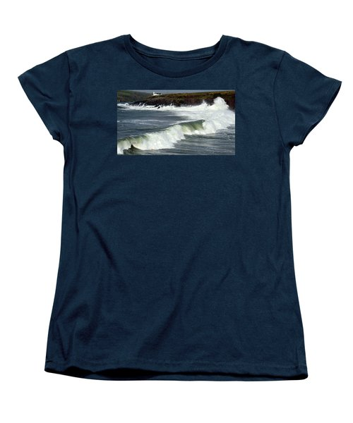 Big Swell Women's T-Shirt (Standard Cut) by Barbara Walsh