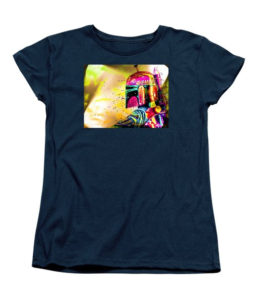 Boba Fett Star Wars Women's T-Shirt (Standard Cut)