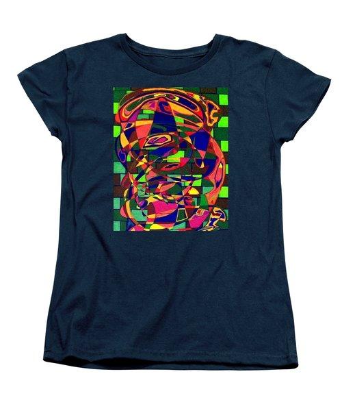 Women's T-Shirt (Standard Cut) featuring the painting Bulwark by Jonathon Hansen