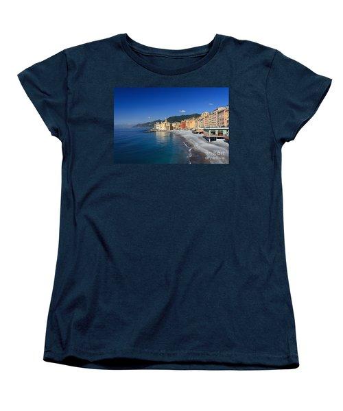 Women's T-Shirt (Standard Cut) featuring the photograph Camogli - Italy by Antonio Scarpi